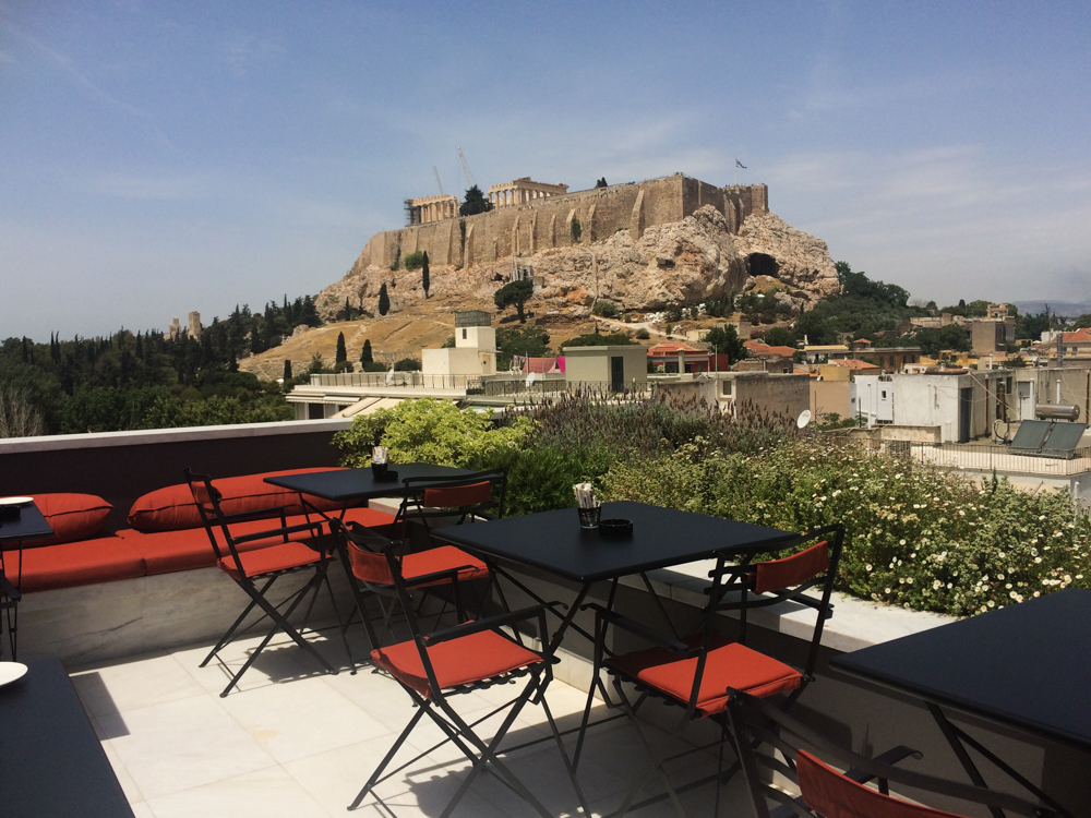 AthensWas Rooftop by The Athenian Girl