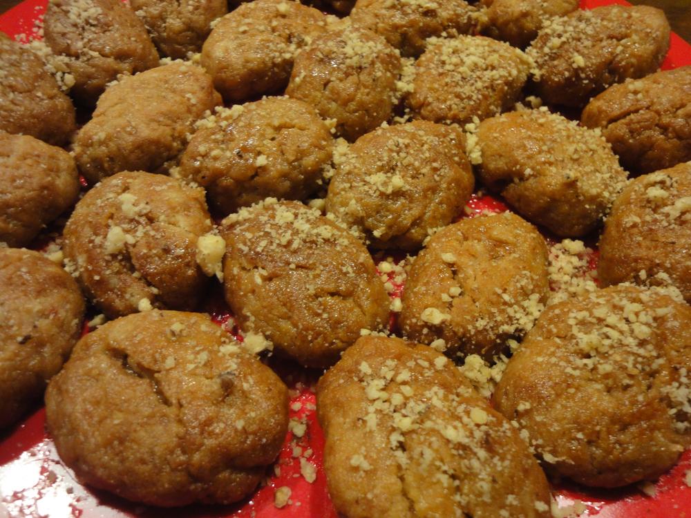 Greek Christmas Treats Melomakarona by The Athenian Girl
