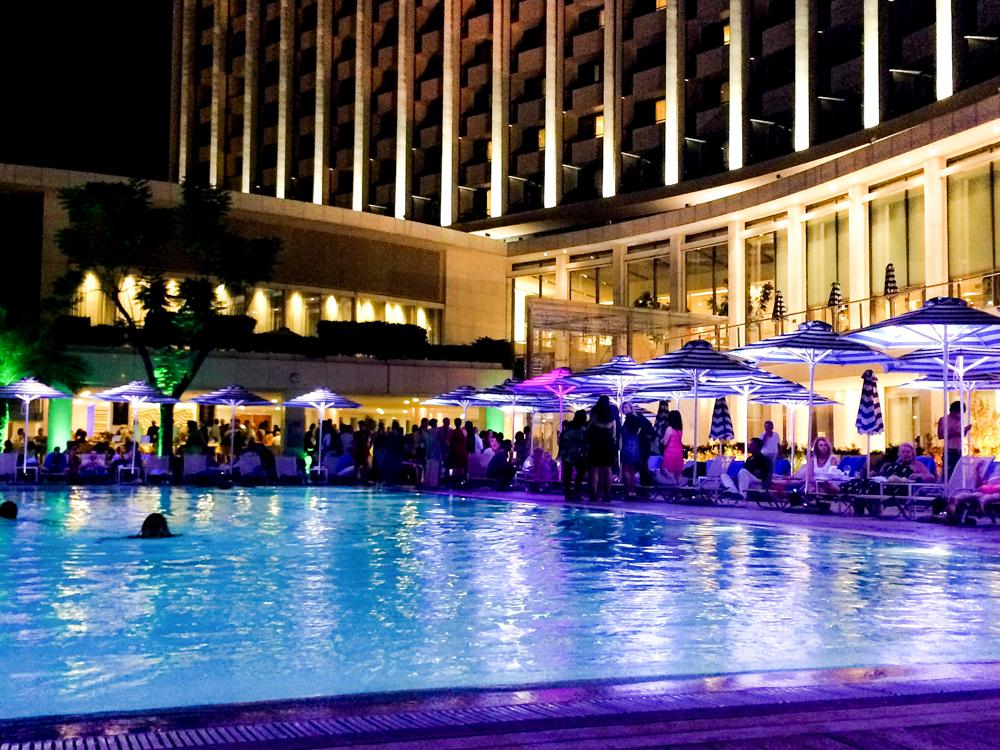 Athens Hilton Pool Party Event The Athenian Girl