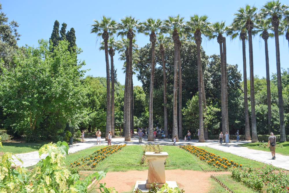 National Garden of Athens by The Athenian Girl