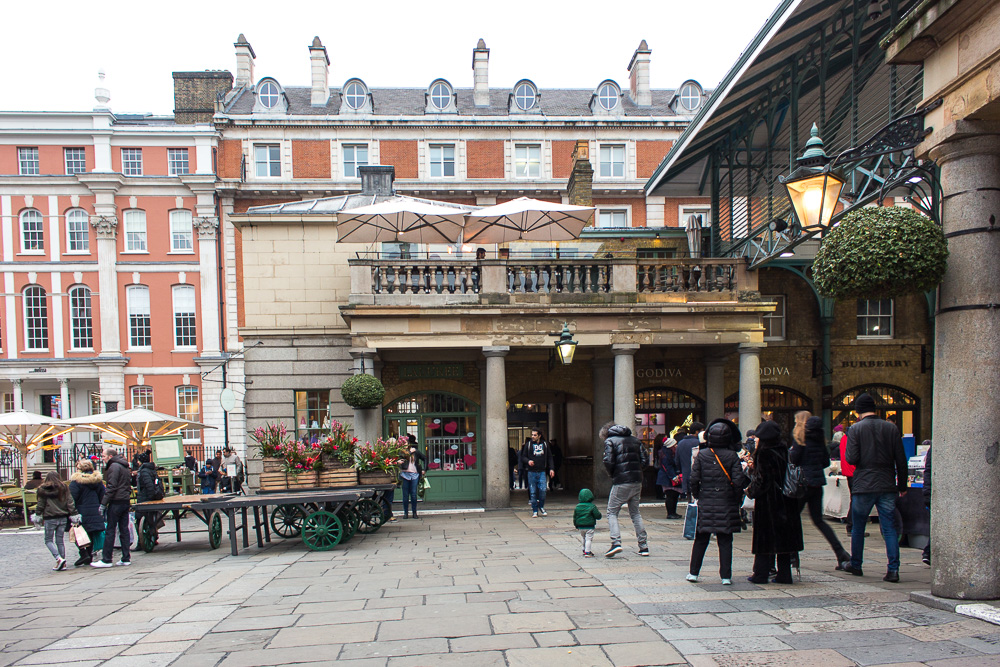 Covent Garden Market by The Athenian Girl