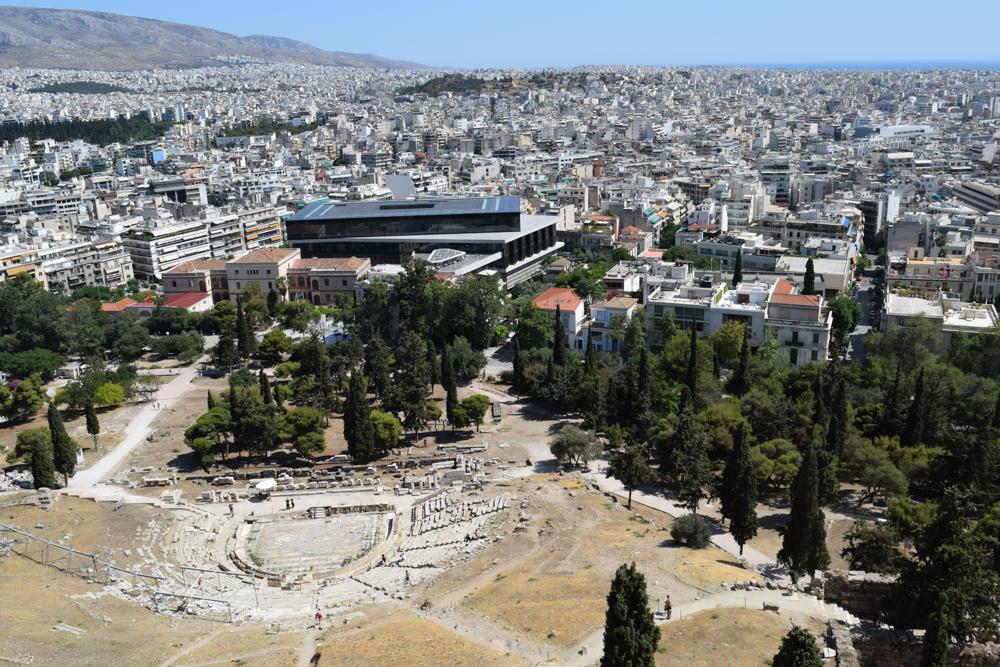 The Athenian Girl at Dionysiou Areopagitou