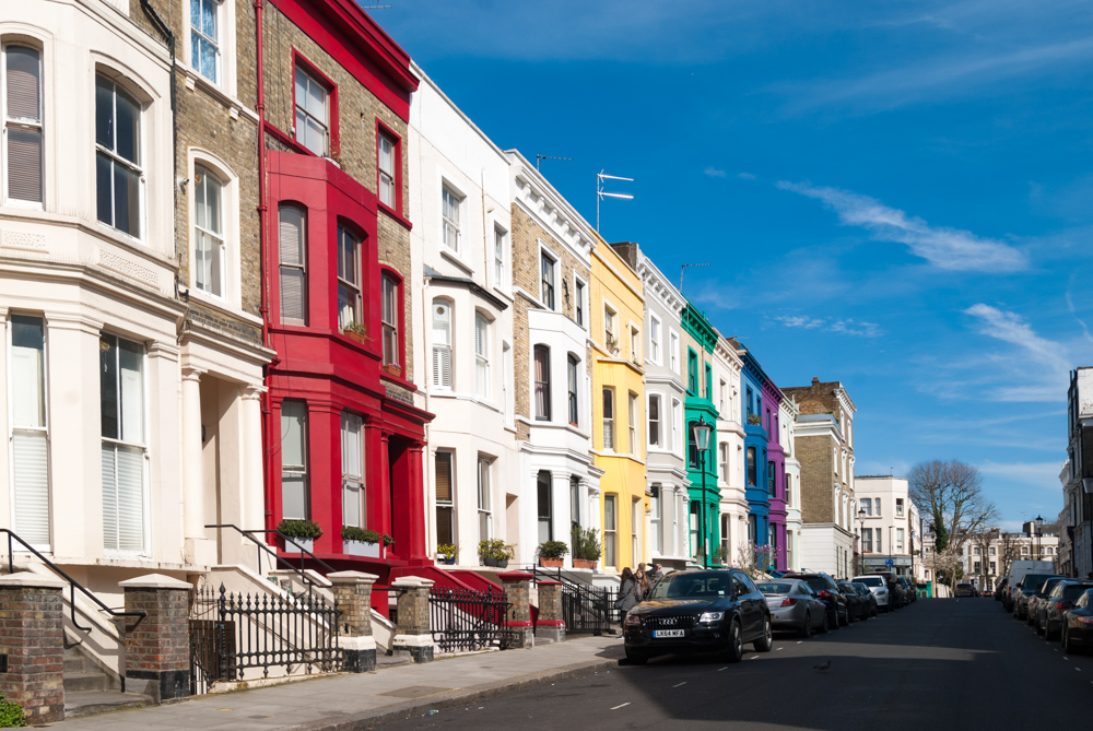 A Sunday in Notting Hill by The Athenian Girl
