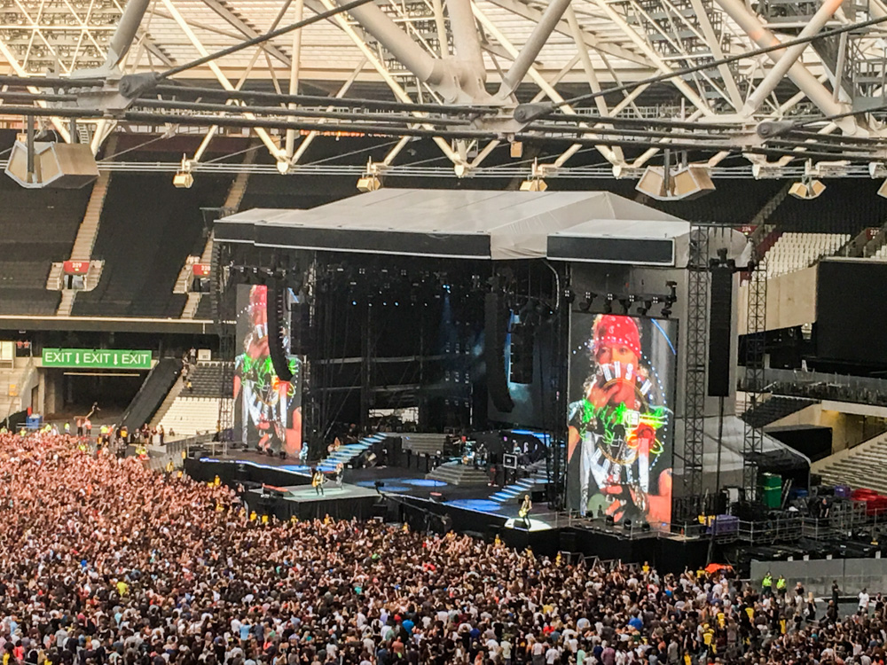 Guns n' Roses Not in this lifetime Tour