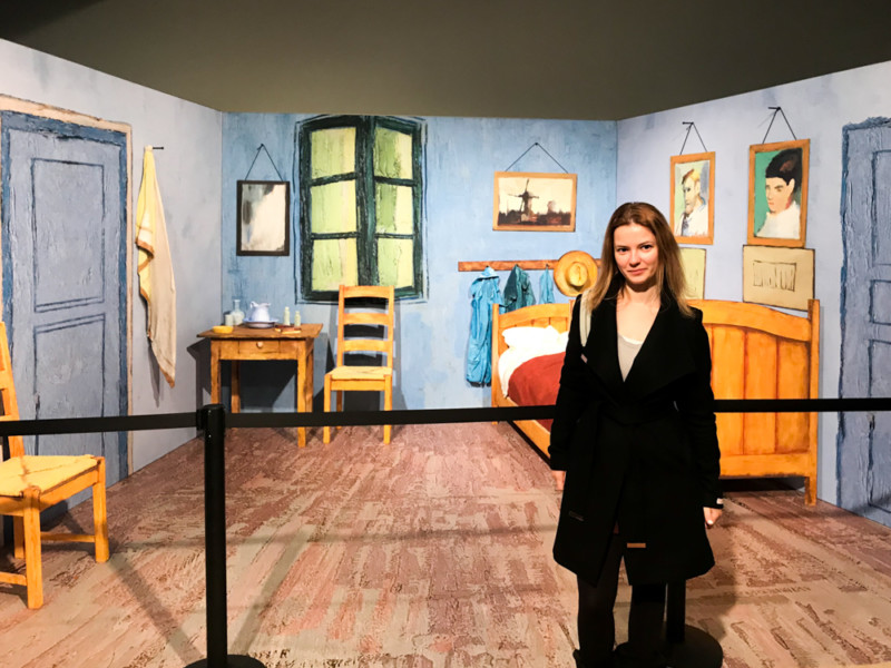 Van Gogh Alive Experience by The Athenian Girl